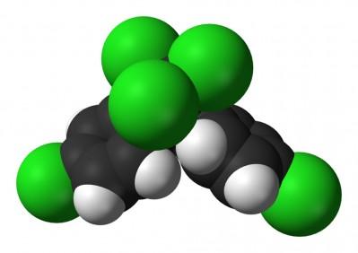 DDT의 분자구조. - 위키피디아 제공